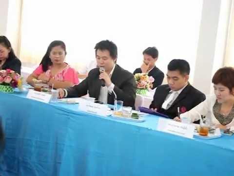 ประชุมติดตามผลบันทึกข้อตกลงความร่วมมือ มหาวิทยาลัยศรีปทุม วิทยาเขตชลบุรีและชุมชนหนองไม้แดง ครั้งที่2