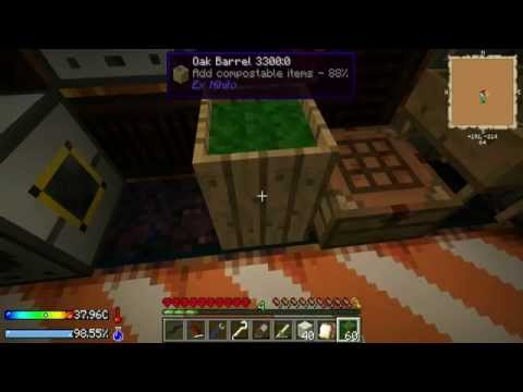 Robintjeh's Minecraft Crash Landing Ep 2: Lekker Boompjes Snoeien!