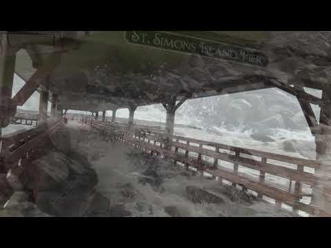 Hurricane Michael SSI Pier 10102018