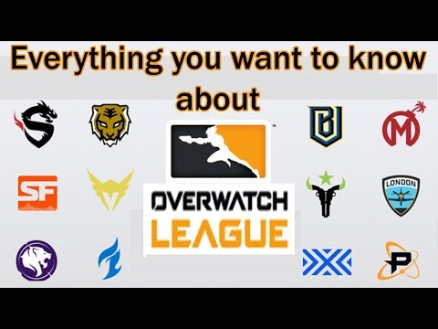 Everything you want to know about Overwatch League