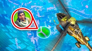 we broke fortnite with NEW helicopters...