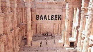 Полет над развалинами Баальбека | Baalbek from the sky  | Baalbek Lebanon