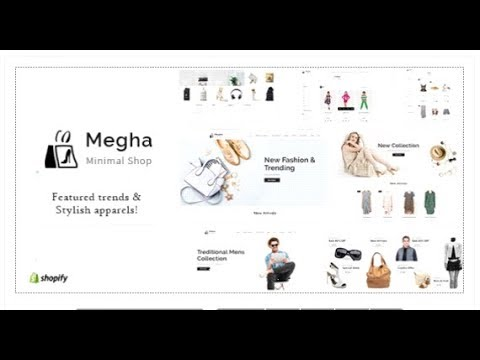 Megha - Fashion Store Shopify | Themeforest Templates