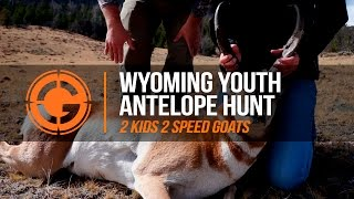 LRP highlights | S3 E11 Wyoming Youth Antelope Hunt