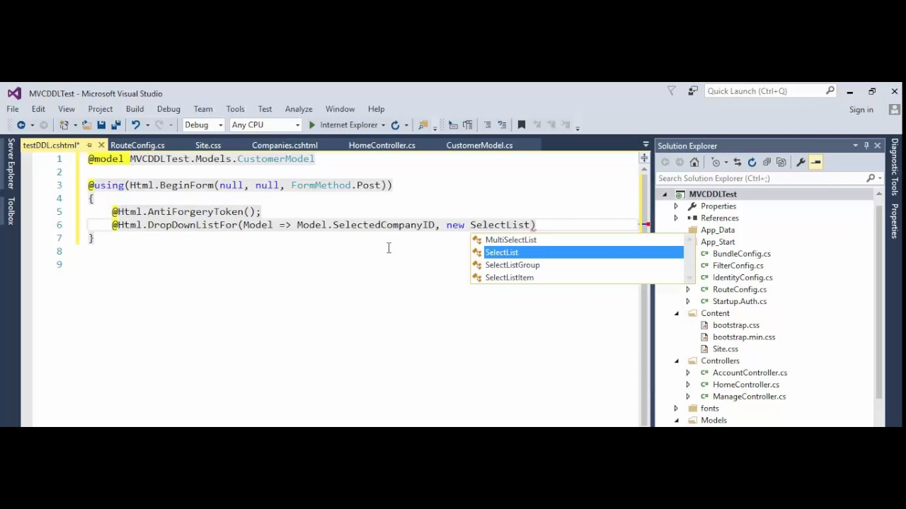 MVC - Get Selected text and ID from Drop Down List in Controller