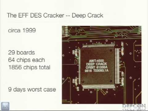 DEFCON 20: Defeating PPTP VPNs and WPA2 Enterprise with MS-CHAPv2