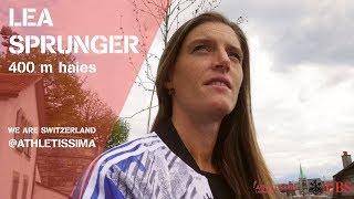 We Are Switzerland @Athletissima   Lea Sprunger (GER)
