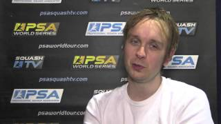 Squash : Two minutes with James Willstrop