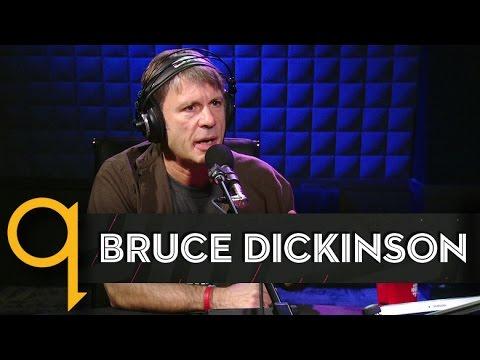 Iron Maiden's Bruce Dickinson in studio q