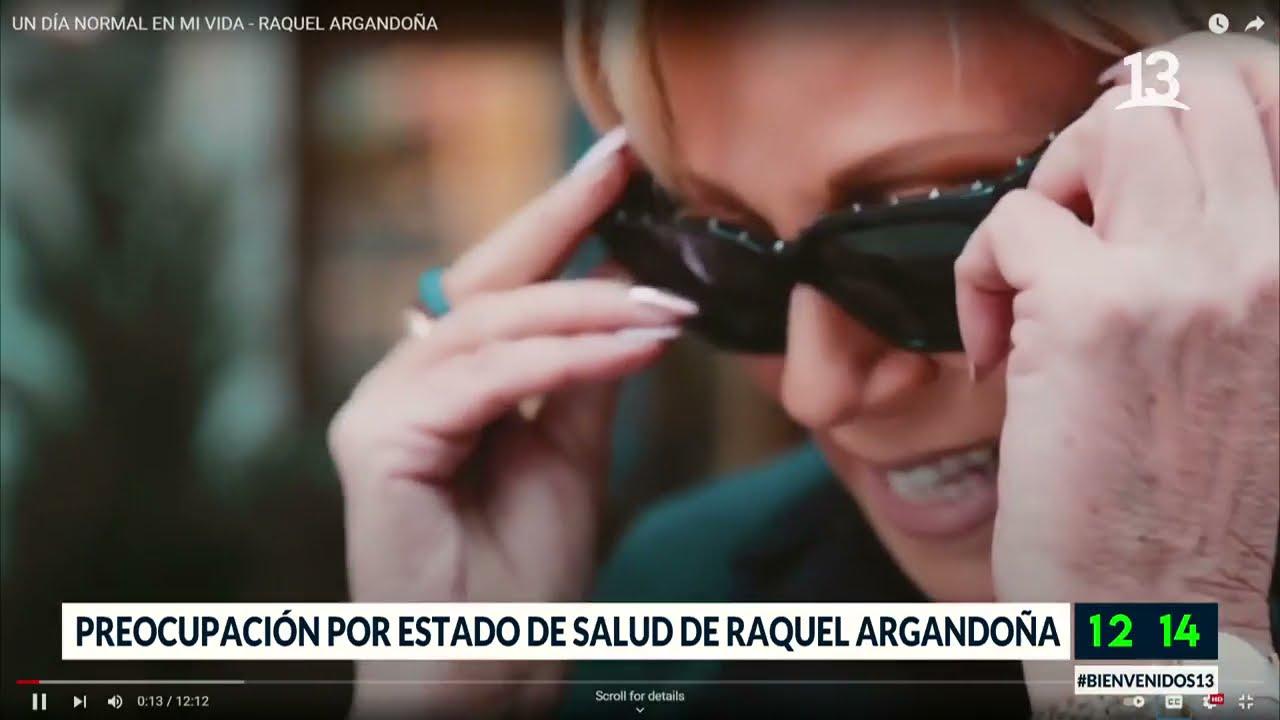 Download Preocupación por estado de salud de Raquel Argandoña. Bienvenidos, 2021.