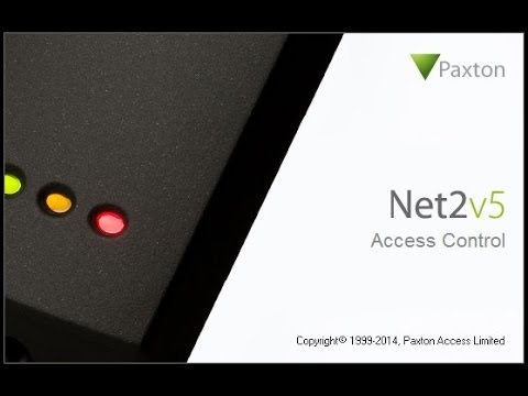 New Features of the Paxton Net2 5.0 Access Control Software