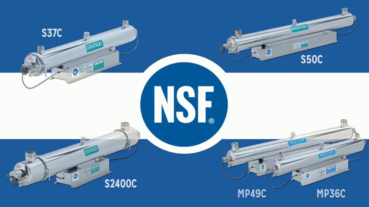 nsf certified water purifiers vs non nsf certified water purifiers