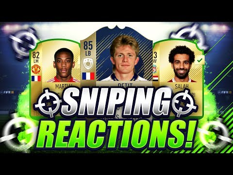 FIFA 18 | OMFG I MISSED ANOTHER ICON SNIPE 😱 SNIPING REACTIONS EP5 🔥