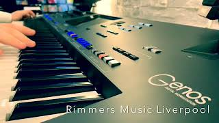 Yamaha Genos Played By Joe -  Rimmers Music Liverpool Store