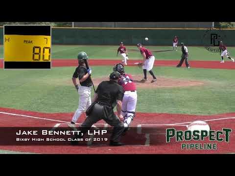 Jake Bennett Prospect Video, LHP, Bixby High School Class of 2019