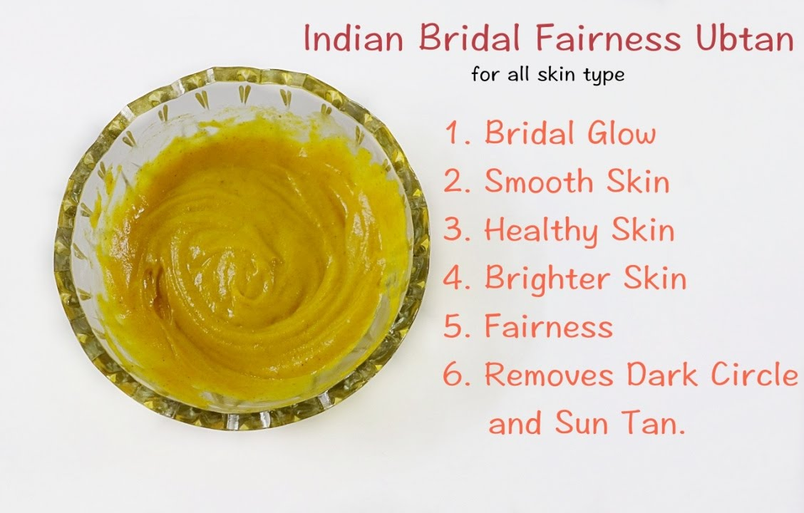 Indian Bridal Ubtan for Fairness and Glowing Skin #DIY