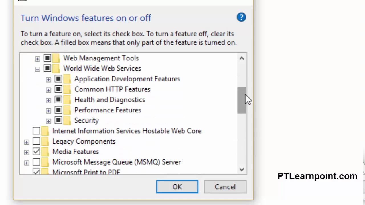 How do I install IIS Express on Windows 27?