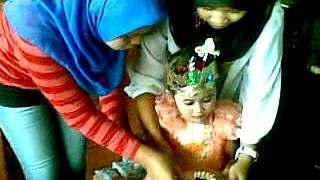 acara ulang tahun desi nurayni 23/12/2012 yg ke 4 thn 2 ulu laut lrg karya rt33 palembang