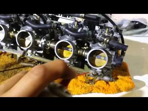 How to clean Yamaha carbs with some tips