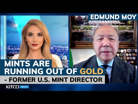 Mints are running out of gold; not enough physical silver to cover paper– former U.S. Mint Director