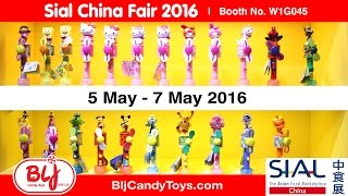 SIAL China Food Fair  China Candy Toys Manufacturer  BLJ Candy Toys