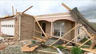 Tuscaloosa, AL Natural Disaster: Mile Wide Tornadoes Slam Homes thumbnail