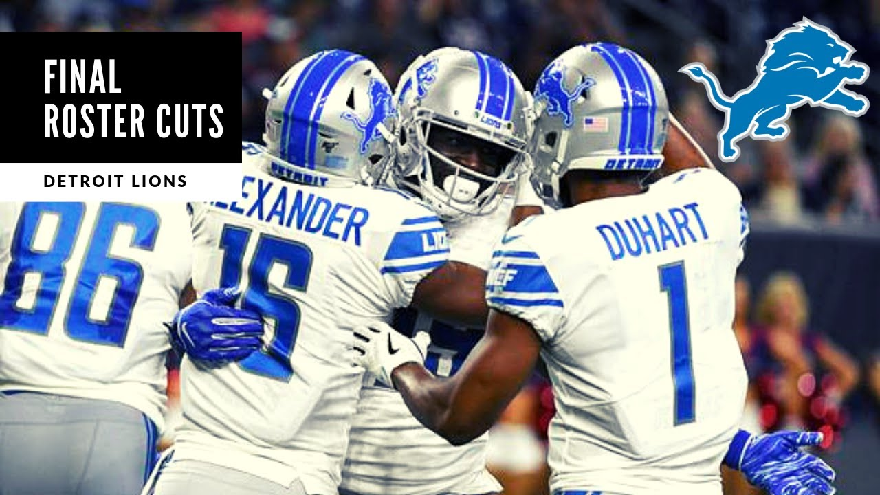 FINAL Roster CUTS! 53 Man Roster Is Created! Detroit Lions Talk