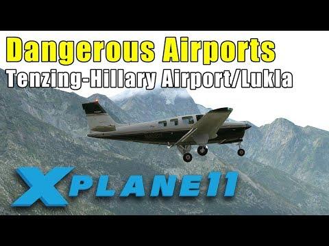 X-Plane 11: Dangerous Airports - Tenzing-Hillary Airport/Lukla in the Himalayas