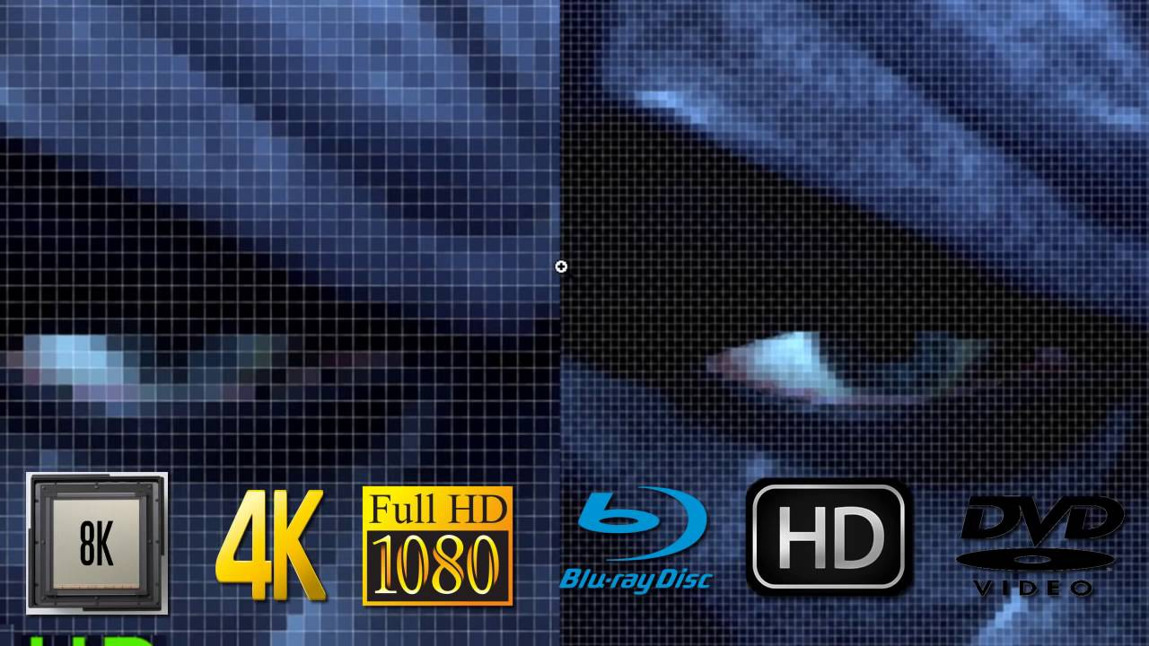 Diferencias entre 8k, 4K, HD, Full HD, Ultra HD, Blu ray y DVD, HD Ready Vs  Quad HD Avel Drive