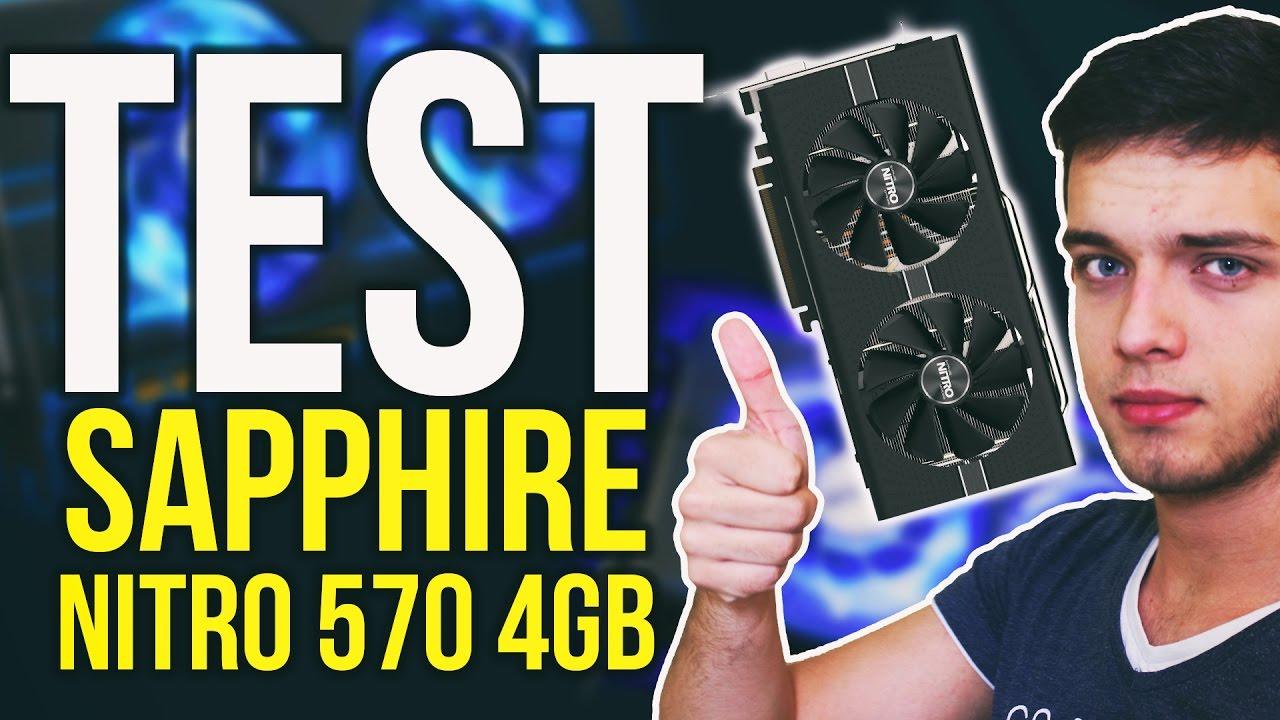 NOWE KARTY AMD? Sapphire Nitro 570 4GB – Test