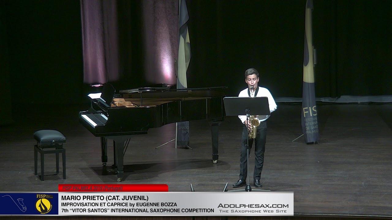 FIS PALMELA 2019  – Mario Prieto  – Improvisation et Caprice by Eugenne Bozza