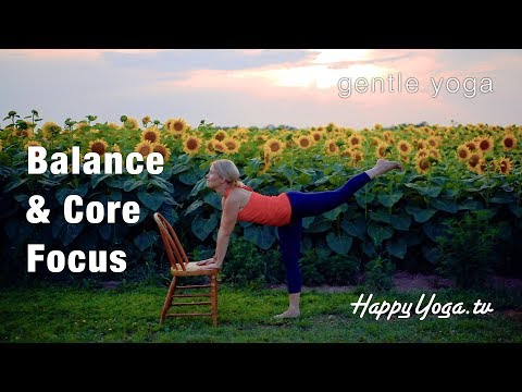Chair Yoga | Mastering Balance | Happy Yoga On Demand