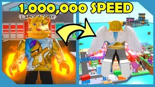 Flying 1,000,000 Miles Per Hour!! - Roblox Superhero City