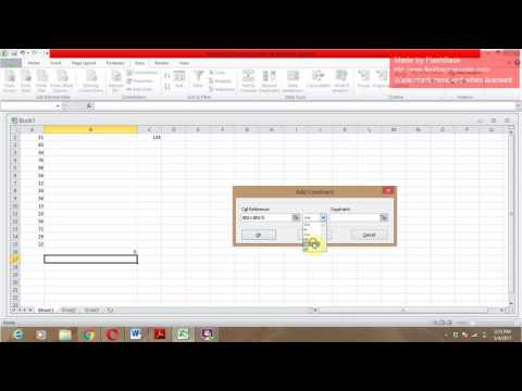 How to Find random numbers that total to a given Amount or Value Using Excel..