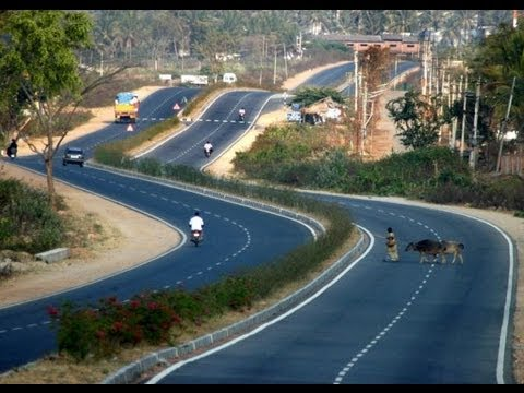 Fastest Expressway - NH 48- Bangalore to Mangalore Highway- Full HD 1920×1080