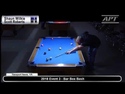 APT 2018 Event 3: Shaun Wilkie vs Scott Roberts