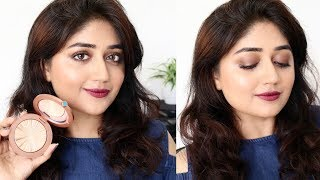 Bold Lips with Bronze Eyes : Makeup Tutorial for Indian Skin | corallista