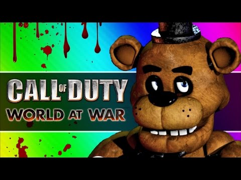 Thumbnail: Five Fails at Freddy's (Call of Duty WaW Zombies Custom Maps, Mods, & Funny Moments)