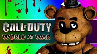 Five Fails at Freddy s Call of Duty WaW Zombies Custom Maps, Mods, Funny Moments