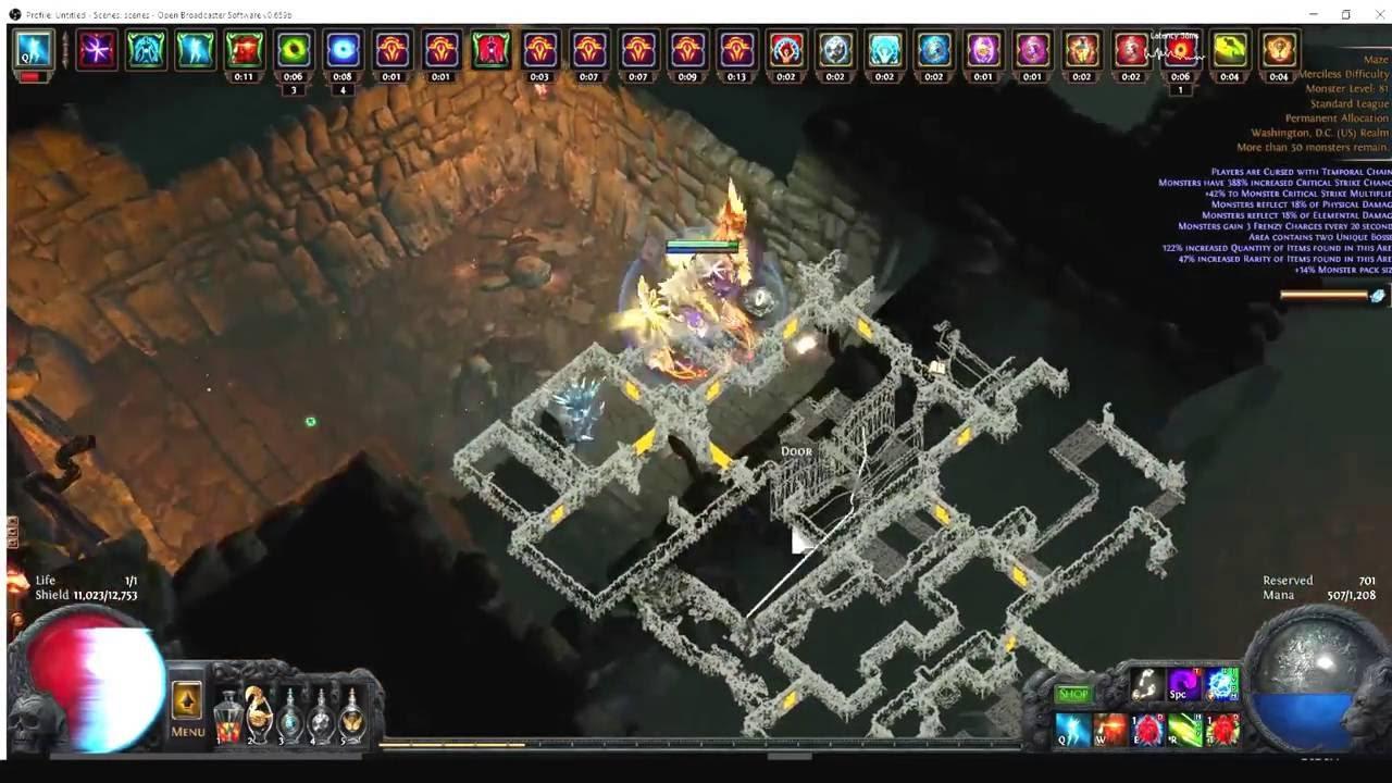 Poe Chaos Wander Build