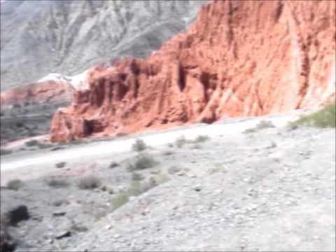Viaje Salta-Jujuy. Purmamarca. Camino Los Colorados.Travel. Argentina
