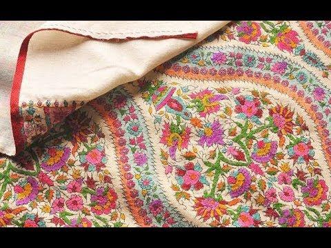 Famous Handmade Kashmir Shawls   24 News HD
