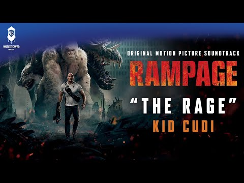 Kid Cudi - The Rage -From: Rampage Original Motion Picture Soundtrack (official video)