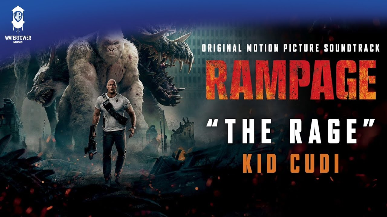 High Quality Kid Cudi   The Rage   From: Rampage Original Motion Picture Soundtrack  (official Video)