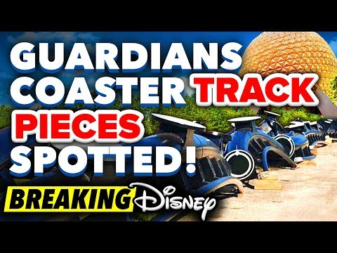 Guardians Coaster TRACK PIECES SPOTTED in Walt Disney World! - BREAKING Disney News Update