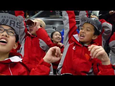 Children from Gansu Experience Rampage Hockey!