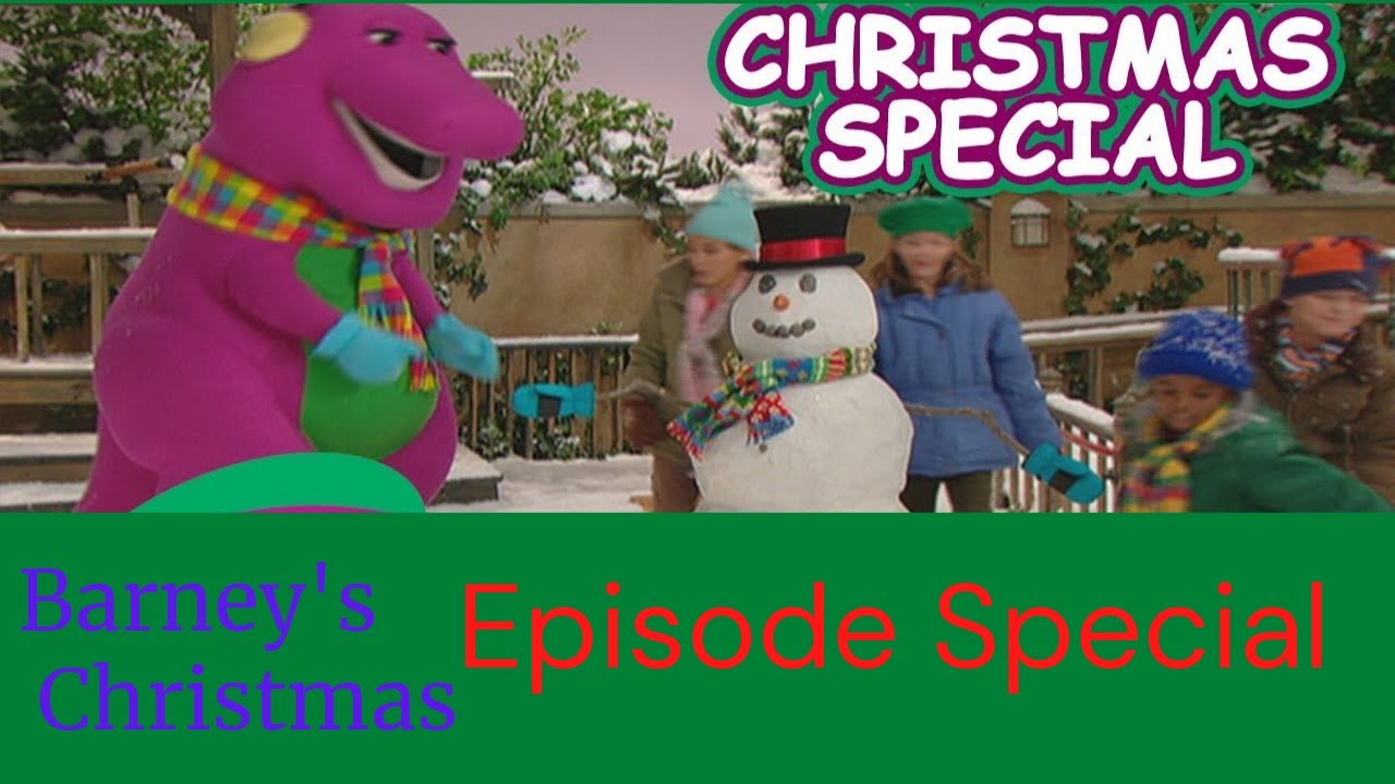 A VERY MERRY CHRISTMAS WITH BARNEY - YouTube