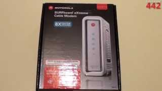 Motorola SURFboard SB6141 DOCSIS 3.0 Cable Modem: Overview & Unboxing