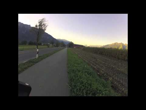 Running Across Liechtenstein
