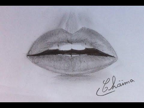 Drawing lips - رسم الشفاه بسهولة و احترافية